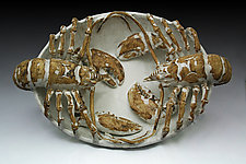 Double Lobster Platter by Shayne Greco (Ceramic Platter)