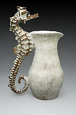 Seahorse Pitcher by Shayne Greco (Ceramic Pitcher)
