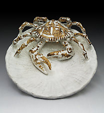 Crab Plate by Shayne Greco (Ceramic Platter)