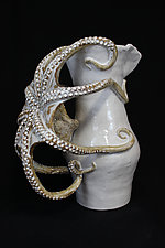 Octopus Pitcher by Shayne Greco (Ceramic Vessel)
