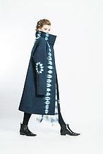 Curved Tracks Quilted Coat by Mary Jaeger (Woven Jacket)