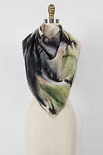 Unfolding Project Scarf by Mary Jaeger (Silk and Wool Scarf)