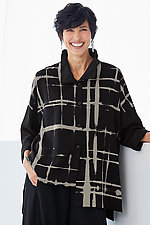 Grid Mies Shirt by Steve Sells Studio  (Woven Top)