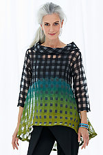 Ray Ombre Top by Steve Sells Studio  (Woven Tunic)