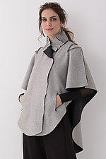 Double Breasted Cape by Vilma Mare  (Wool Cape)