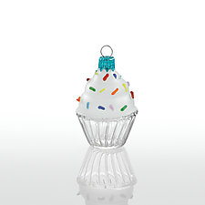 Babycakes by Sage Churchill-Foster (Art Glass Ornament)
