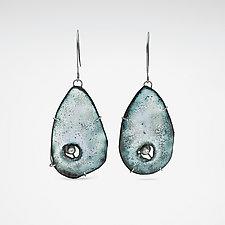 Caldera Earring by Lisa LeMair (Enameled Earrings)