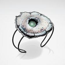 Caldera Cuff by Lisa LeMair (Enameled Bracelet)