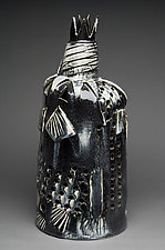 Dark Light King by Ted Sutherland (Ceramic Sculpture)