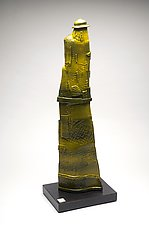 Fisherman by Ted Sutherland (Ceramic Sculpture)
