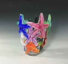 Starfish Cluster II by John Gibbons (Art Glass Sculpture)