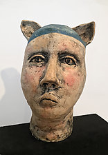 Edgar by Ashley Benton (Ceramic Sculpture)