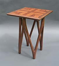 Victoria by Tracy Fiegl (Wood Side Table)