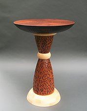 Bangle by Tracy Fiegl (Wood Pedestal Table)