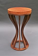 Vane by Tracy Fiegl (Wood Side Table)