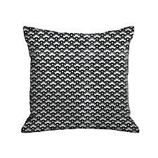 Gilded Luxe Cherry Blossom Pillow by Helene  Ige (Velvet Pillow)