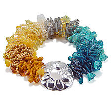Sun Reflection Bracelet by Kathryn Bowman (Beaded Bracelet)