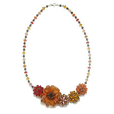 Harvest by Kathryn Bowman (Glass Bead Necklace)
