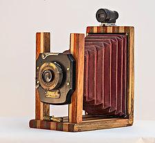 Red Velvet by John Shuptrine (Wood Sculpture)