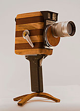 Film Funky by John Shuptrine (Wood Sculpture)