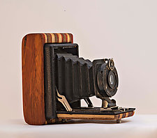 620 Friendly by John Shuptrine (Wood Sculpture)