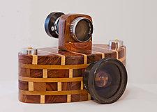 Xtol by John Shuptrine (Wood Sculpture)