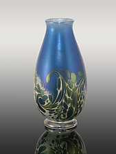 Ocean Wave Vase by Orient & Flume Art Glass (Art Glass Vase)