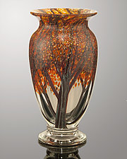 Autumn Woods by Orient & Flume Art Glass (Art Glass Vase)