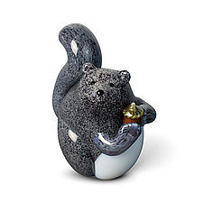 Squirrel by Orient & Flume Art Glass (Art Glass Paperweight)