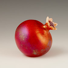 Pomegranate by Orient & Flume Art Glass (Art Glass Sculpture)