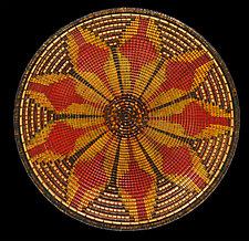 The Corn Spirit Sculpture by Keoni Carlson (Wood Platter)