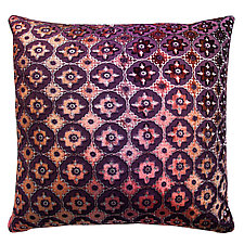 Small Moroccan Velvet Pillow by Kevin O'Brien (Velvet Pillow)