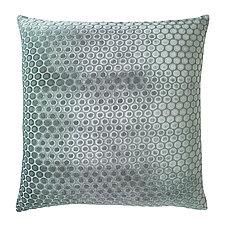 Dots Velvet Pillow by Kevin O'Brien (Velvet Pillow)