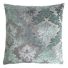 Brocade Velvet Pillow by Kevin O'Brien (Velvet Pillow)