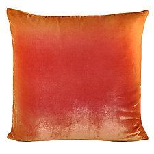 Ombre Velvet Pillow by Kevin O'Brien (Velvet Pillow)
