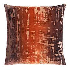 Brush Stroke Velvet Pillow by Kevin O'Brien (Velvet Pillow)