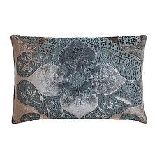Persian Velvet Lumbar Pillow by Kevin O'Brien (Velvet Pillow)
