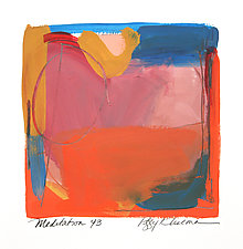 Meditation 43 by Peggy Klineman (Watercolor Painting)
