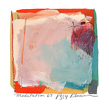 Meditation 67 by Peggy Klineman (Watercolor Painting)