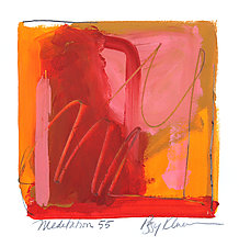 Meditation 55 by Peggy Klineman (Watercolor Painting)