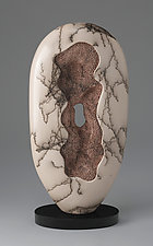 Coral Sculpture I by Jeff Margolin (Ceramic Sculpture)