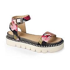 Tuileries Sandal by La Bottega di Lisa  (Leather Sandal)