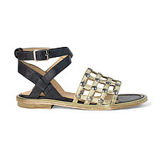 Antonia Sandal by La Bottega di Lisa  (Leather Sandal)