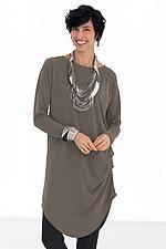 Cirrus Draped Tunic by Lisa Bayne  (Knit Tunic)