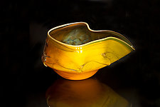 Salado Glassworks Signature Series Bowl I by Gail Allard (Art Glass Bowl)