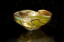 Salado Glassworks Signature Series Bowl III by Gail Allard (Art Glass Bowl)