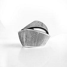 Cave Cuff by Karole Mazeika (Leather Bracelet)