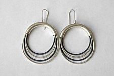 Surgical Wire Earrings by Laurette O'Neil (Wire Earrings)