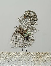 Doris by Kiffi Diamond (Mixed-Media Wall Hanging)