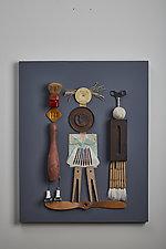 Friends by Kiffi Diamond (Mixed-Media Wall Hanging)
